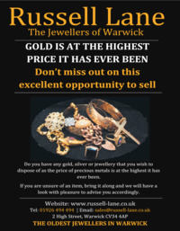 Russell Lane Antiques Advert