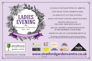 Stratford Garden Centre Advert