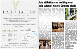 Hair At Hatton Advert