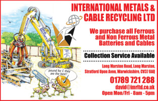 International Metal Recyclers Ltd Advert