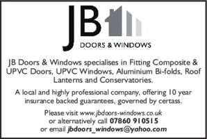 J B Doors & Windows Advert