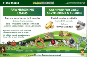 Cash Brokers Advert