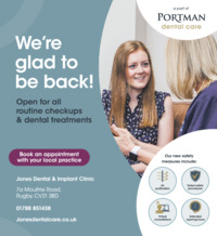 Portman Dental Advert