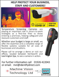 Machine Vision Technology Ltd Advert