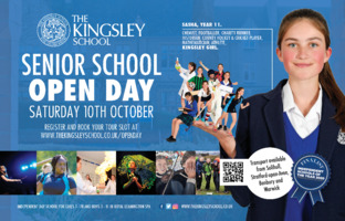 Kingsley School Advert