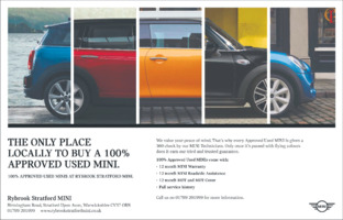 Rybrook Stratford Mini Advert