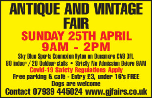 G J Fairs Advert