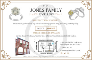 Jones Family Jewellers Advert