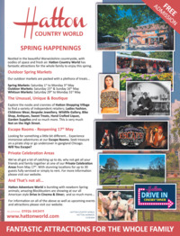 Hatton Country World Advert