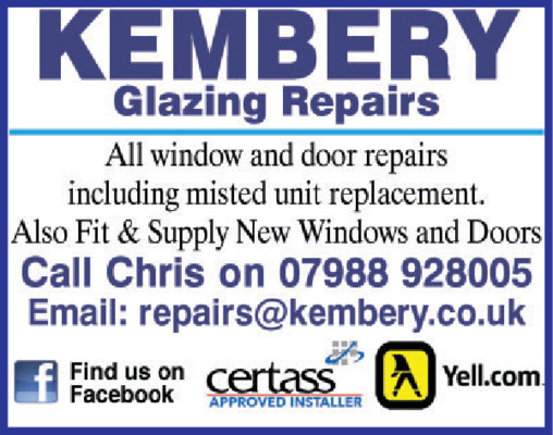 Kembery Glazing Repairs Advert