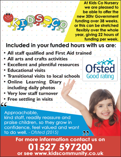 Kids Co-Mmunity Nursery Ltd Advert