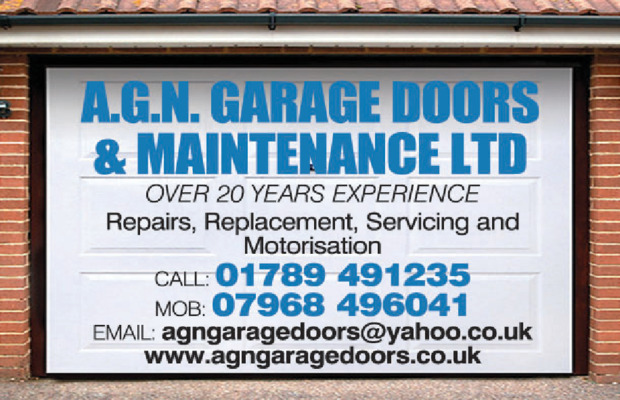 A.G.N Garage Doors Advert