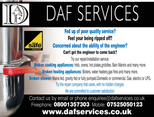 Daf Services Advert