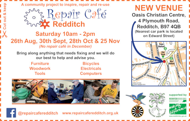 The Repair Cafe Advert