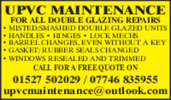 Upvc Maintenance Advert