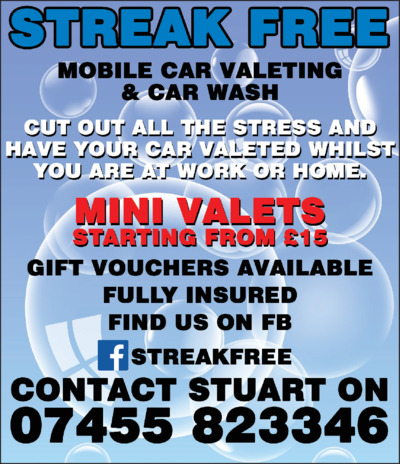 Streak Free Advert