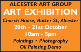 Alcester Art Group Advert