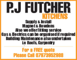 Pete Futcher Advert