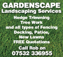Gardenscape Advert
