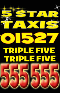 5 Star Taxis (Redditch) Ltd Advert