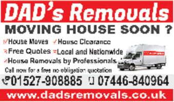 Dads Removals Advert