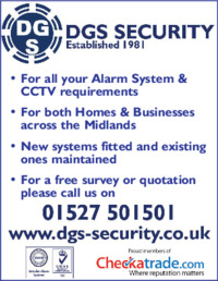 DGS Security Advert