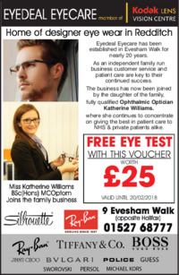 Eye Deals Direct Advert