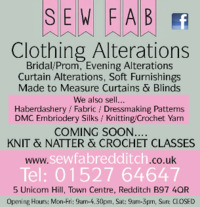 Sew Fab Advert