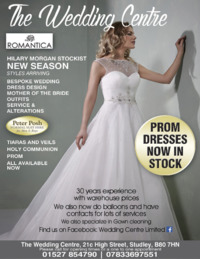 Wedding Centre (Redditch) Limited Advert