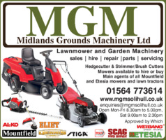 Midlands Grounds Machinery Ltd Advert