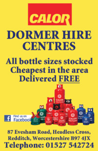 Dormer Plant Hire Ltd Advert