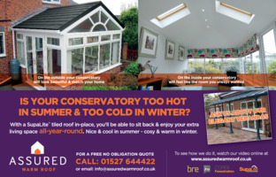 Assured Warm Roof Advert