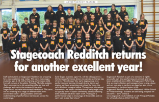 Stage Coach Redditch Advert