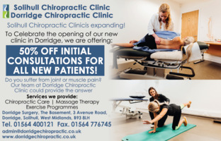 Dorridge Surgery Advert