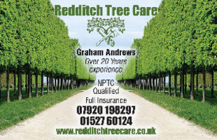 Redditch Tree Care Advert
