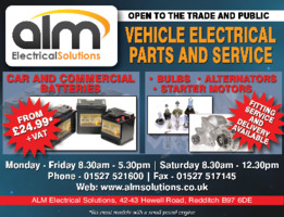 Alm Electrical Solutions Ltd Advert
