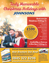 Johnsons Coaches Advert