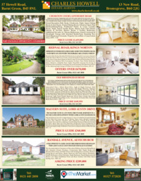 Charles Howell Estate Agents Advert