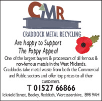 Craddock Metal Recycling Ltd Advert