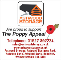 Astwood Storage Advert