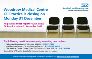 NHS South Worcestershire CCG Advert