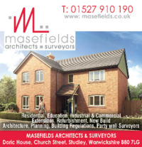 Masefields Architects & Surveyors Advert