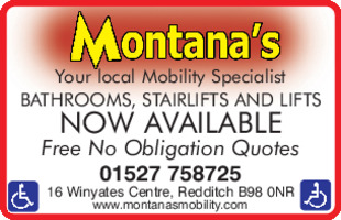 Montana's Ltd Advert