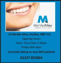 Marble Alley Dental Advert