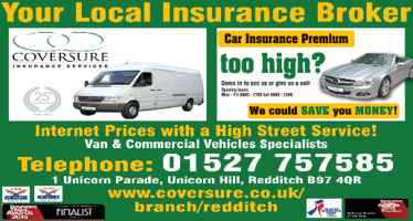 Coversure Insurance Services Advert