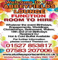 Arden Leisure/Studley Sports Centre Advert
