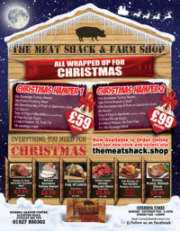 The Meat Shack Advert