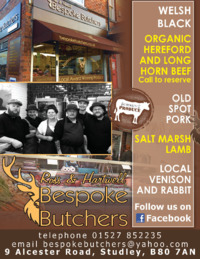 Bespoke Butchers Advert