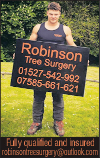Robinson Tree Surgery Advert