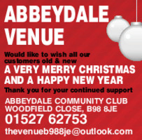 Abbeydale Community Club Advert